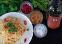 Spaghetti with Garlic, Chilli and Olive Oil